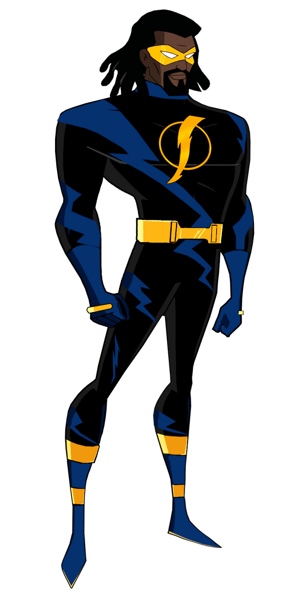 Adult Static (Batman Beyond Crossover)