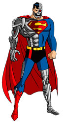 The Cyborg Superman by Alexbadass