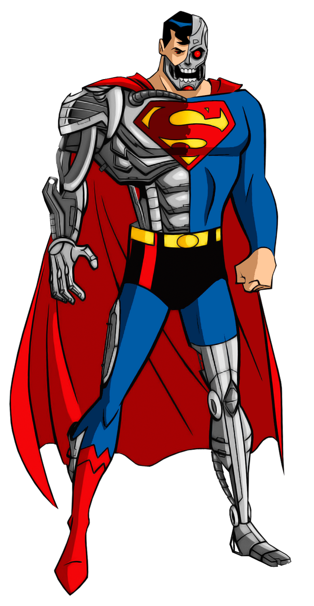 The Cyborg Superman By Alexbadass On Deviantart