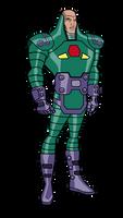 JL Lex Luthor Battle Armor