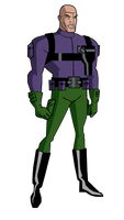 JL Lex Luthor Injustice Gang Suit