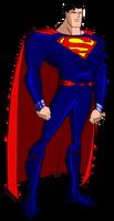 JLU Superman DC Rebirth by Alexbadass