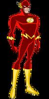 JL Flash (Wally West) by Alexbadass