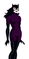 BTAS Catwoman Jim Balent style