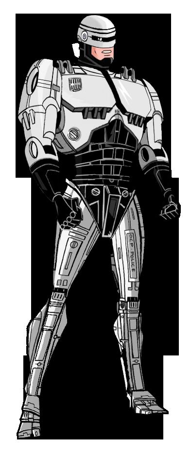 Updated Robocop by Alexbadass