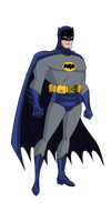Adam West Batman BTAS Style