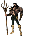 Updated Dawn of Justice Aquaman JLU Style by Alexbadass