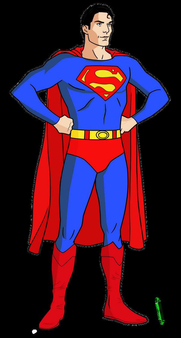 Superman (Christopher Reeve) by Alexbadass