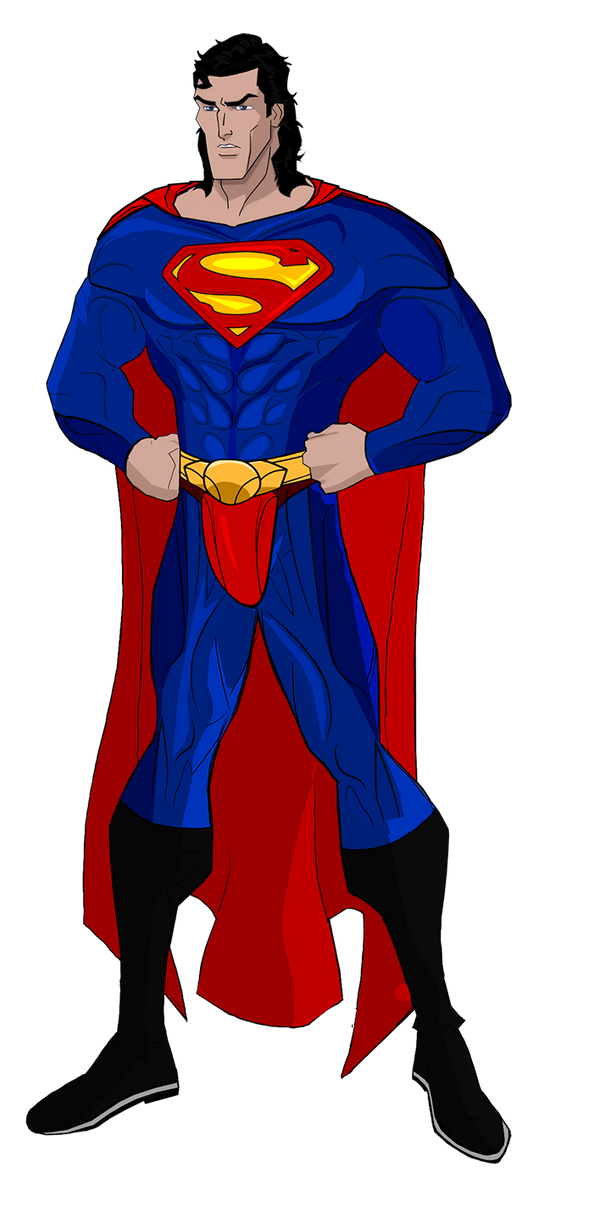 Superman Lives Wardrobe test 2 by Alexbadass