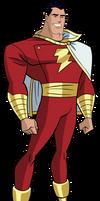 JLU Captain Marvel (Shazam) by Alexbadass