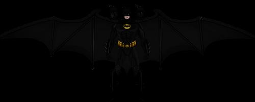 Old Michael Keaton Batman by Alexbadass