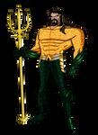 JLU Aquaman movie version