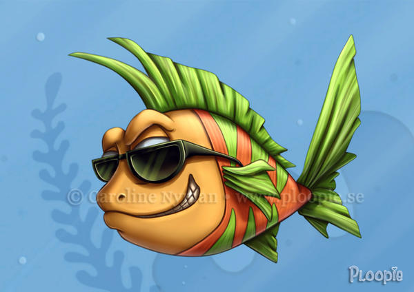 cool fish by ploopie on deviantart