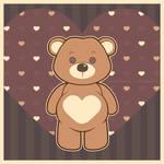 Valentine Teddie by Ploopie