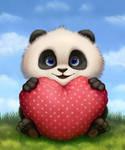 Valentine Panda