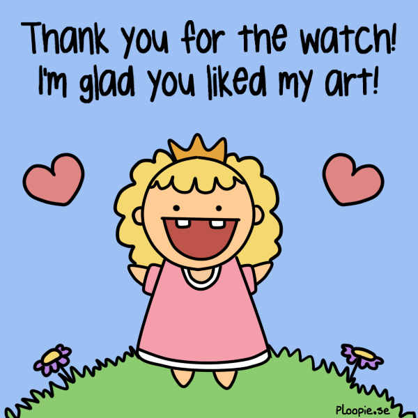 Thanks for watch