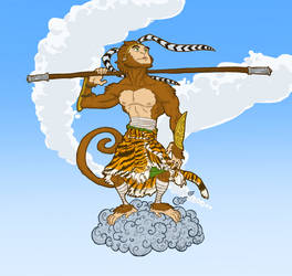 Monkey King by maryarts