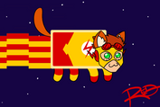 Nyan Cat Wally by AnArtistCalledRed