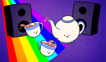 Tea Party by AnArtistCalledRed