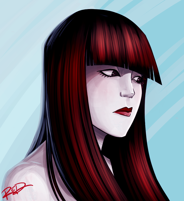 Julie Kane by AnArtistCalledRed