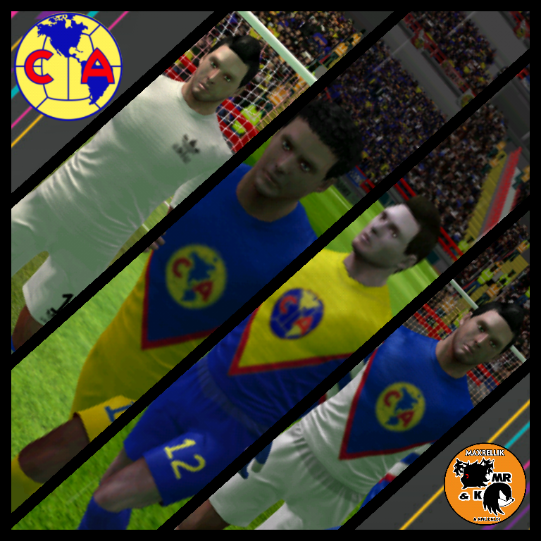 FTS15 - Club America '83 Kits In-Game by MaxRellik on DeviantArt