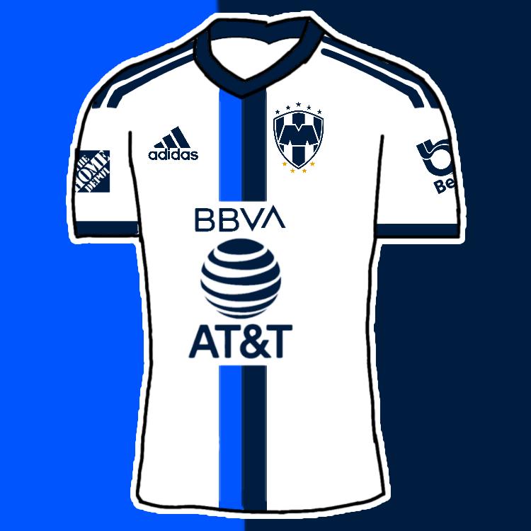Rayados Monterrey By Adidas Away Kit by MaxRellik on DeviantArt