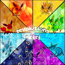 Eevolutions Time by GreatMik