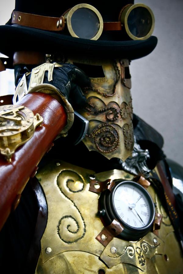 The Clockwork Knight by tungstenwolf