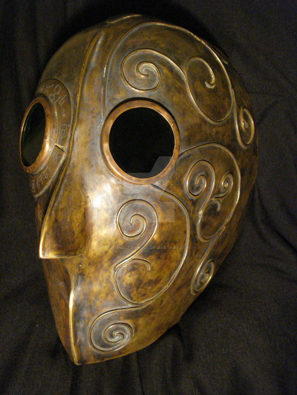 Helmet of the Steampunk Paladin by tungstenwolf