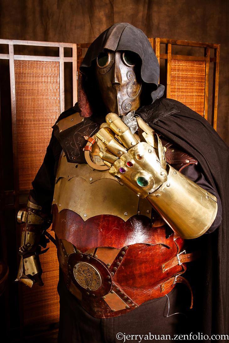 Steampunk Armor by tungstenwolf