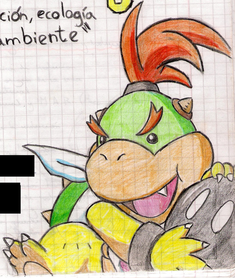 Notebooks First Page Front Drawings 2: Bowser Jr. by MrBowz on ...