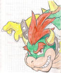 Notebooks First Page Front Drawings 5: Bowser