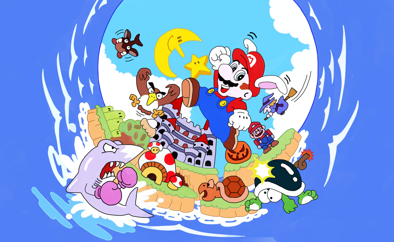 super mario land online