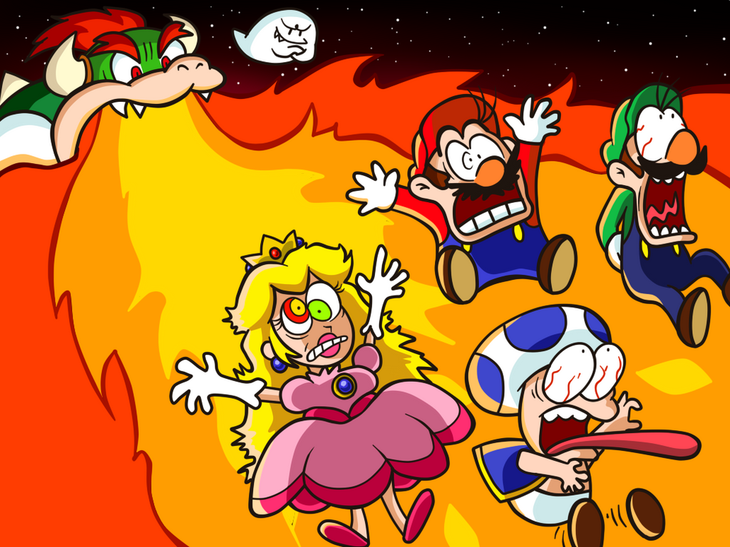 Super Mario Toons - Boo\'s Bowser Plot by MrBowz on DeviantArt