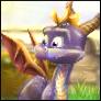 Spyro 1 ''Next-Gen'' Avvie by artisteviolet