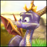 Spyro 1 ''Next-Gen'' Avvie by artisteviolet