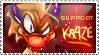 Kraze Stamp by artisteviolet