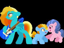 Next Gen #2: Rainbow Dash/Lightning Dust by CarouselUnique