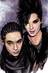 Kaulitz twins again by allegator