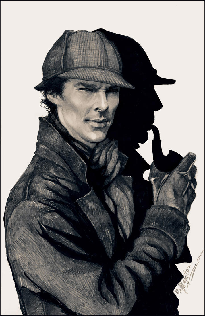 New Sherlock Holmes by allegator