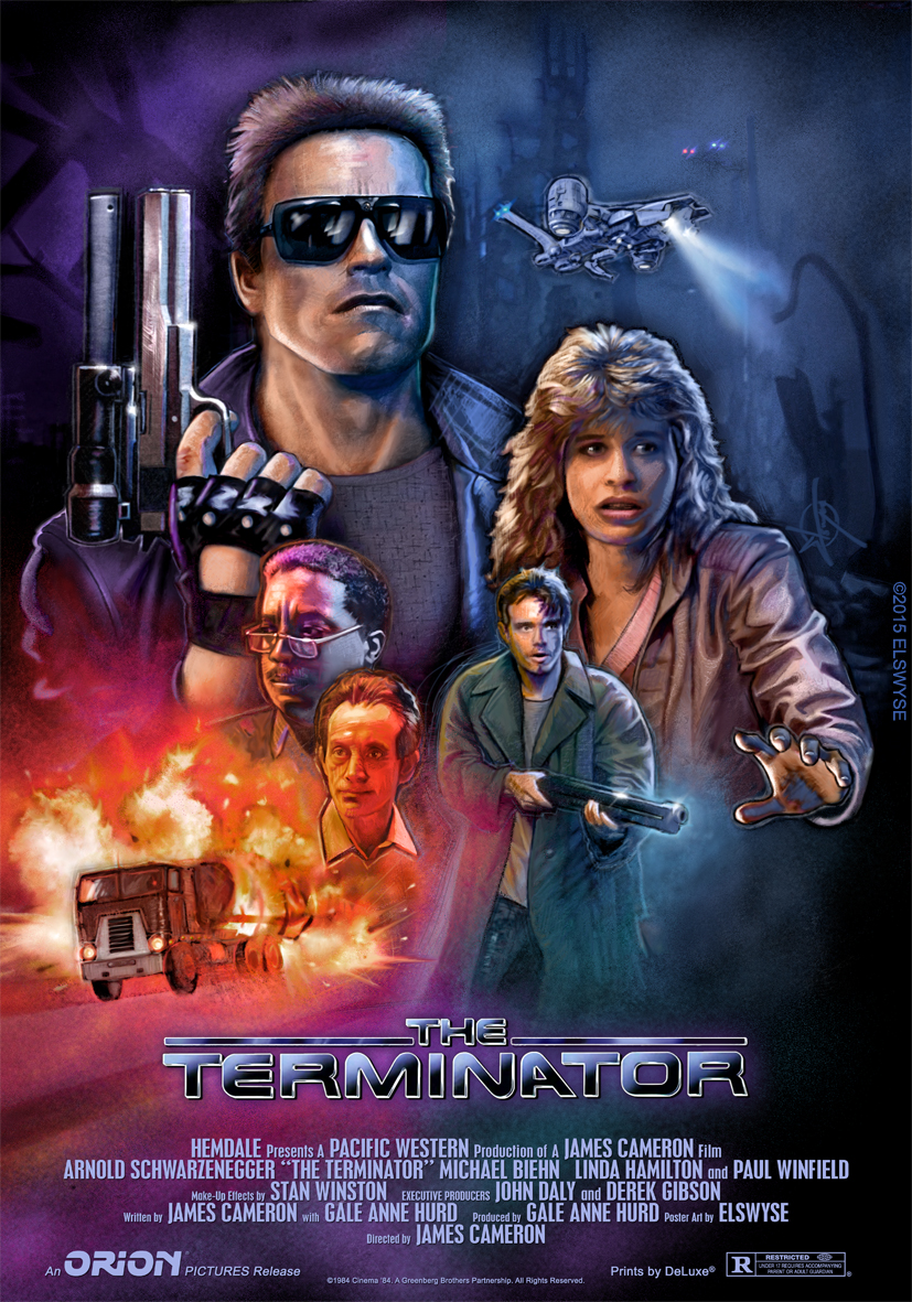 The Terminator Theatrical Poster by Elswyse on DeviantArt