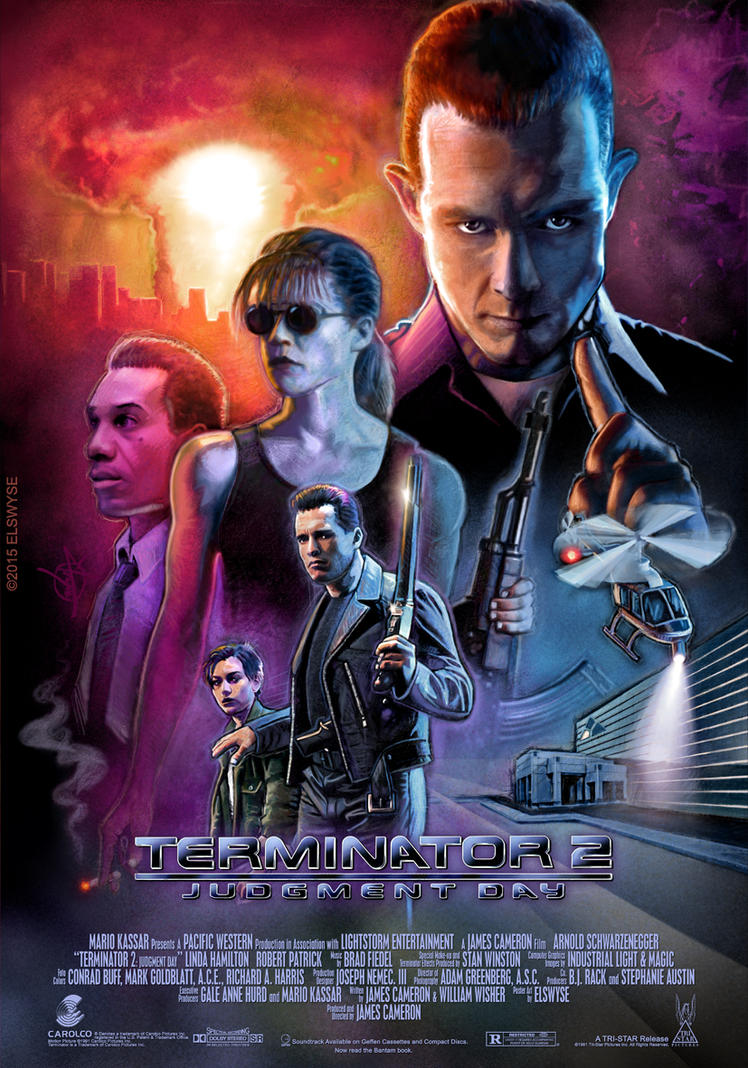 Terminator 2 Theatrical Poster By Elswyse
