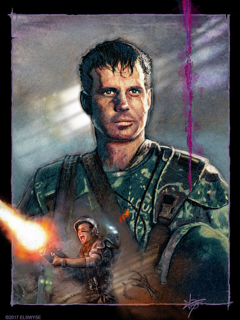 Pvt. Hudson - Bill Paxton Tribute by Elswyse