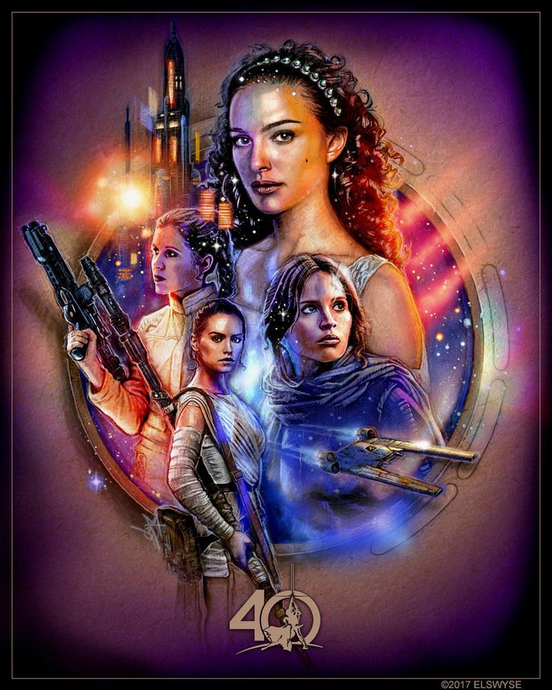 Star Wars Celebration 2017 by Elswyse