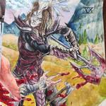 dragonborn (heterosexual)  by YourDigitalAquarium