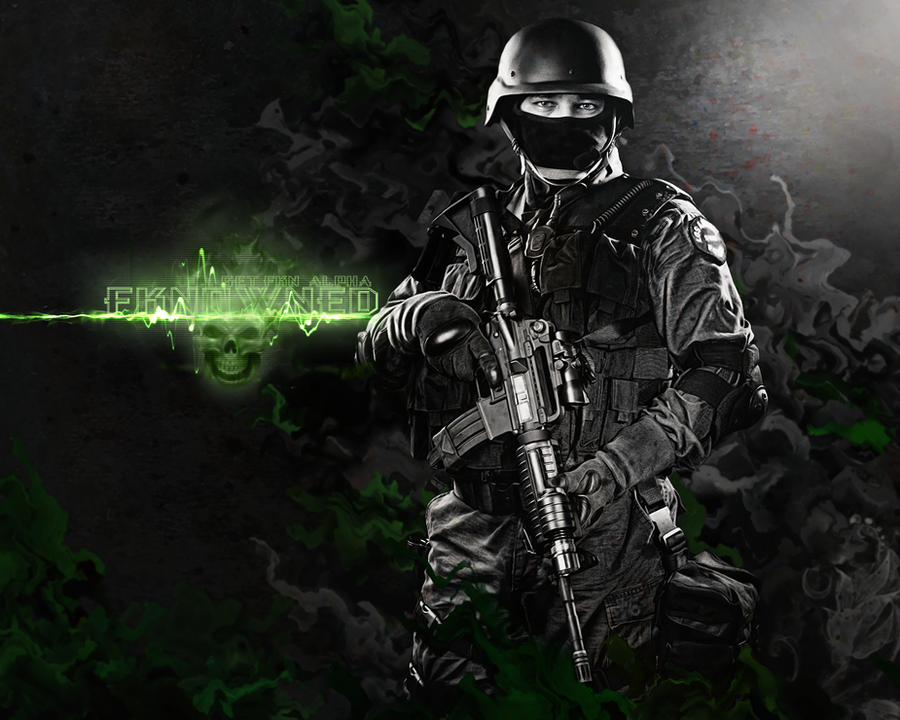 Fkn0wned MW2 Wallpaper By Thejah