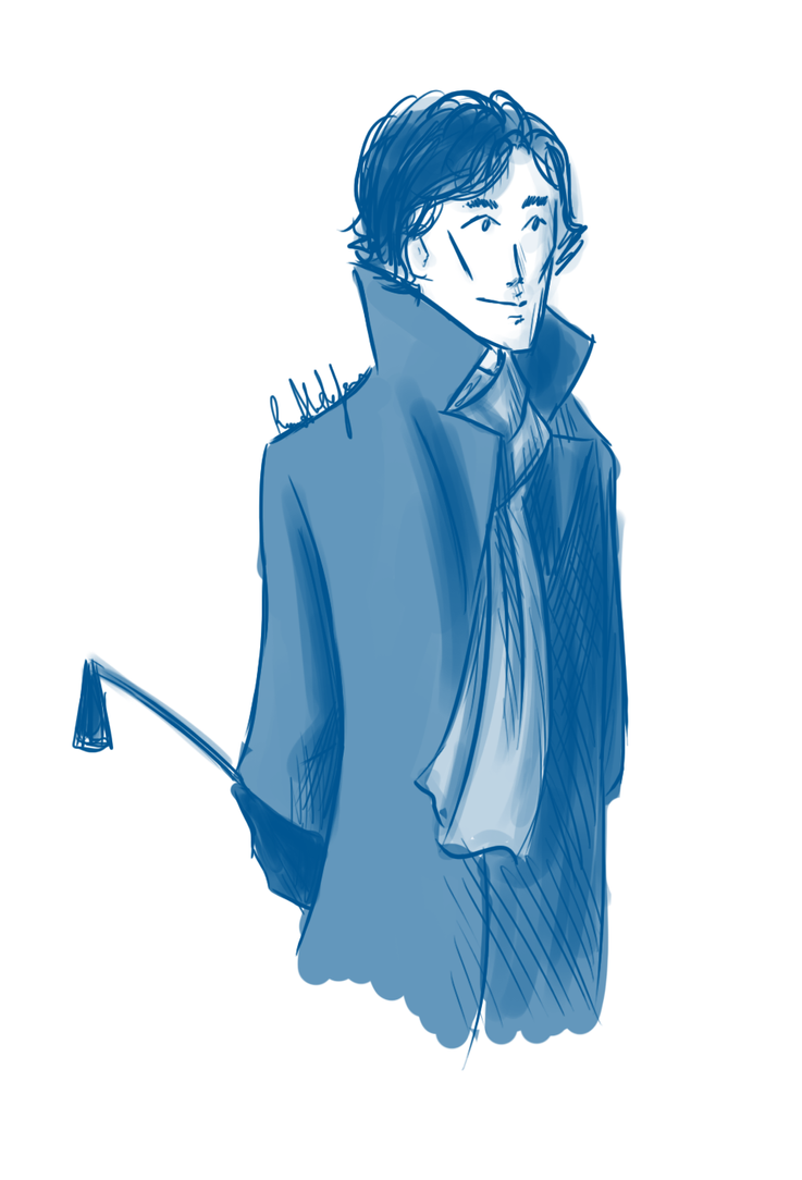 Riding Crop : BBC Sherlock by UntitledTurtles
