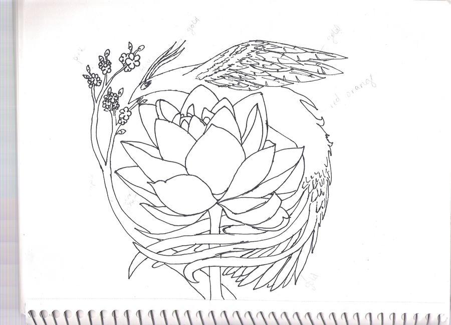 Line Drawing Tattoo Artists London : Tattoo lineart by rosenrosin on deviantart