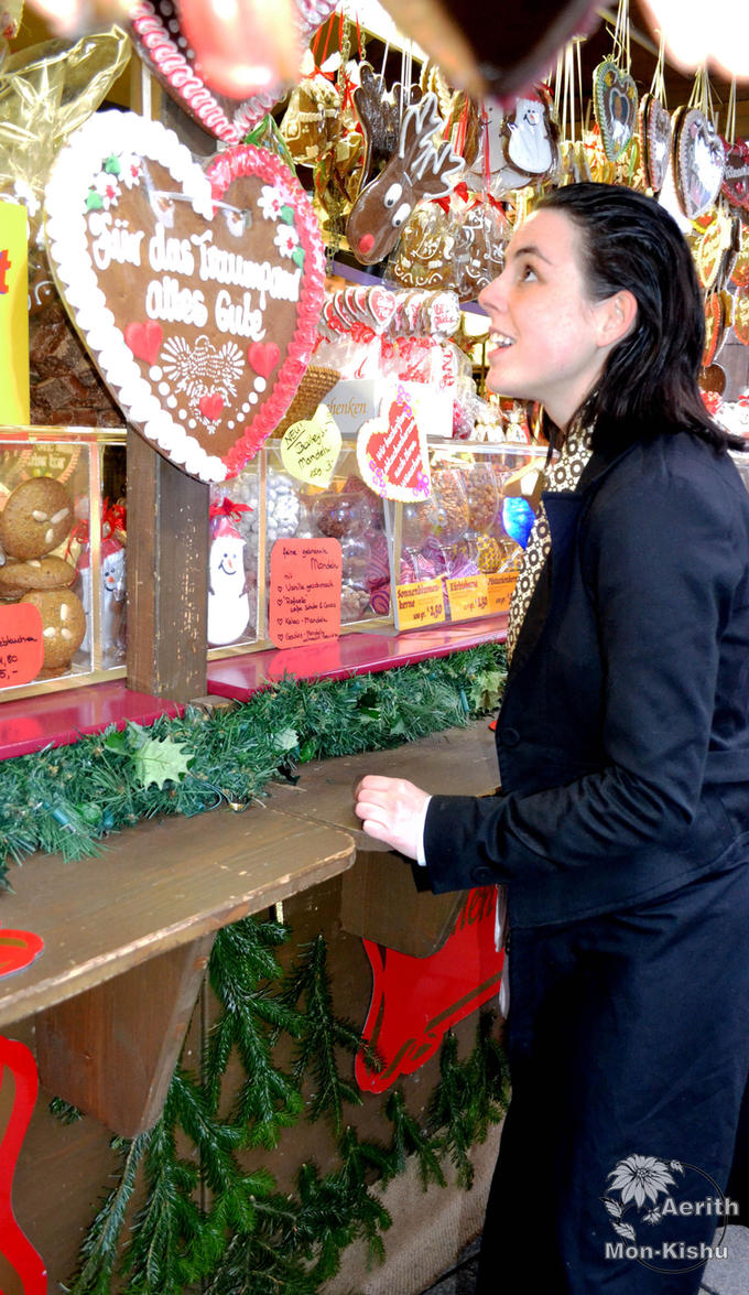 Loki wanting gingerbread 3 - Merry Christmas by Mon-Kishu