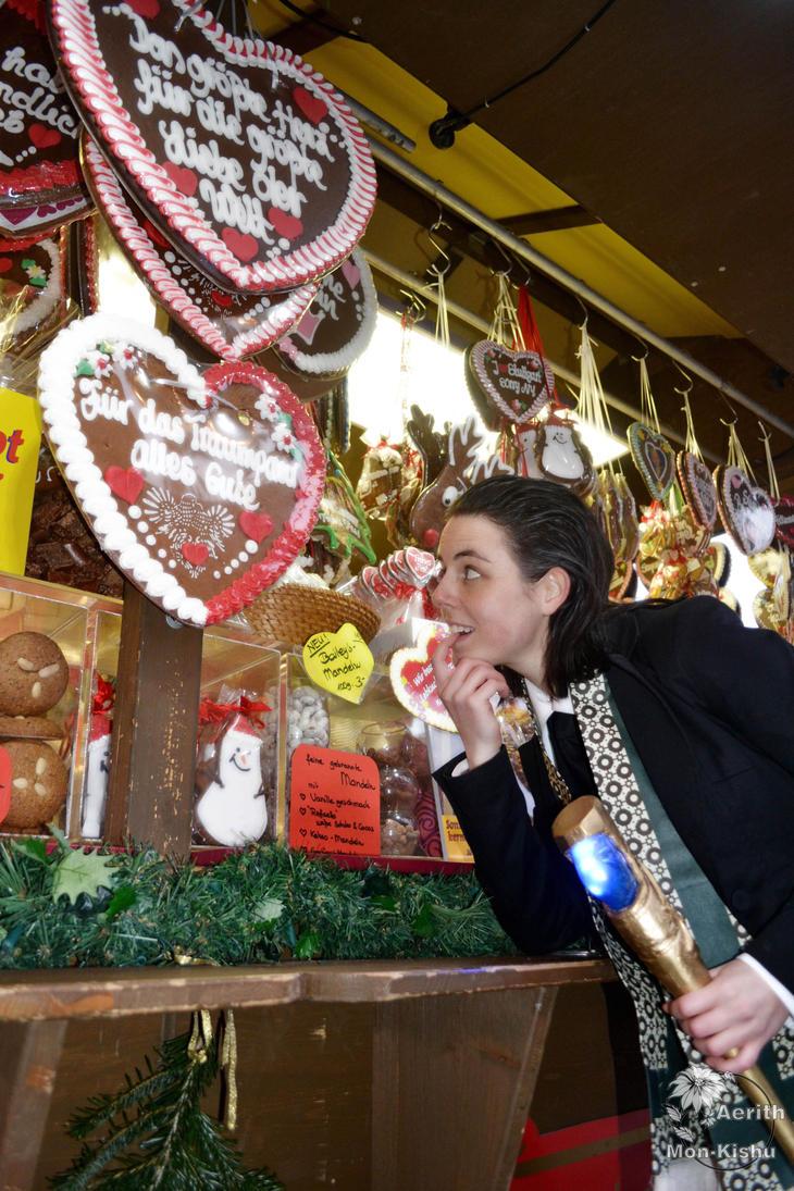 Loki wanting gingerbread 4 - Merry Christmas by Mon-Kishu